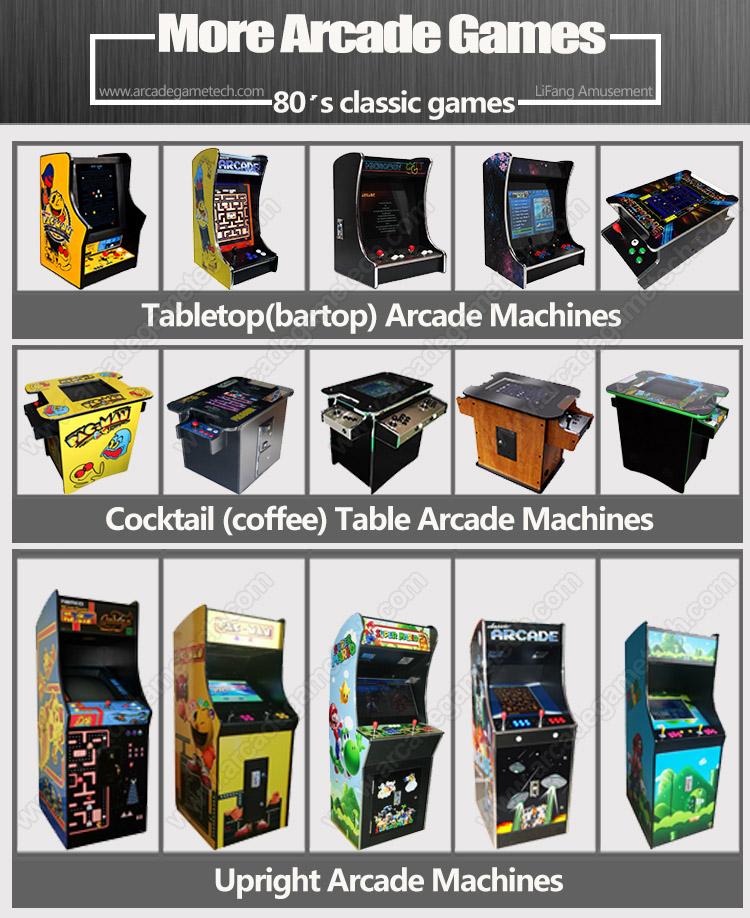 <classic arcade machine>
