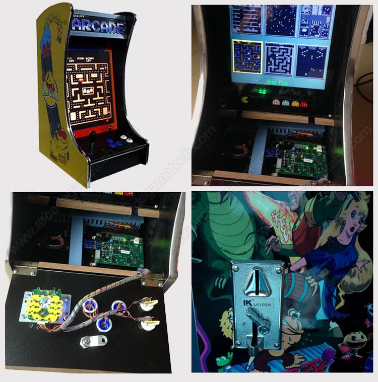 <80's classic arcade games>