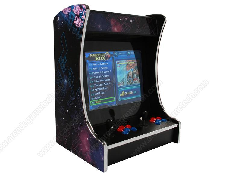 <retro mini tabletop arcade game machine>