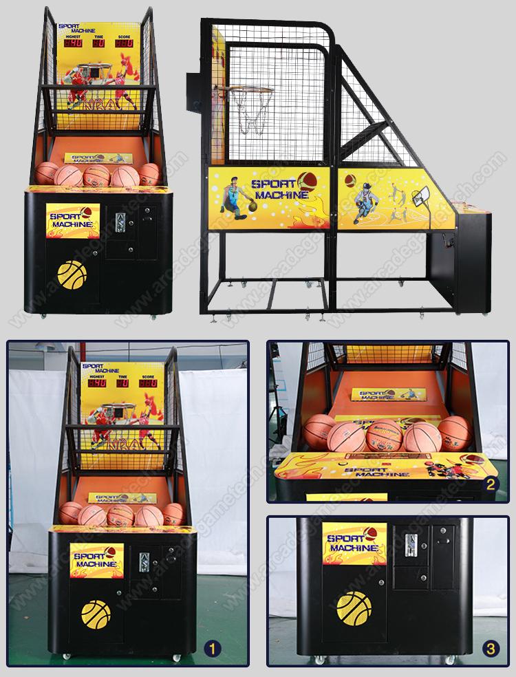 <Street Basketball Arcade Machine>