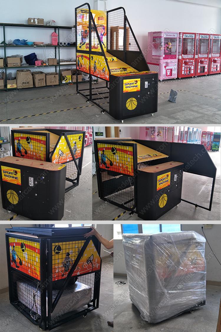 <folding electronic basketball game>