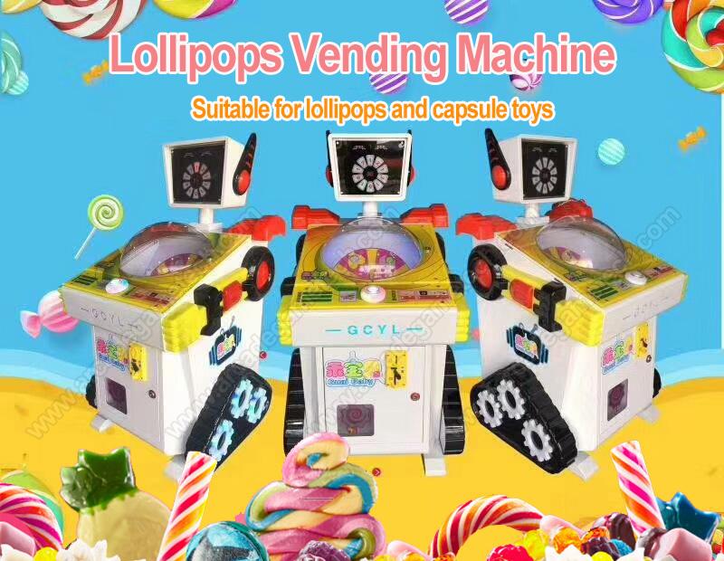 <Lollipops Redemption Machine>