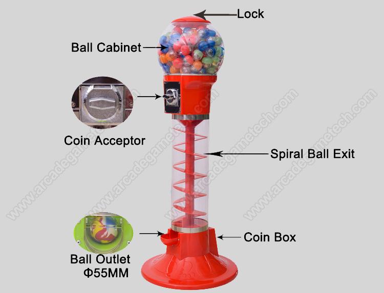 <Capsule Toy Vending Machine>