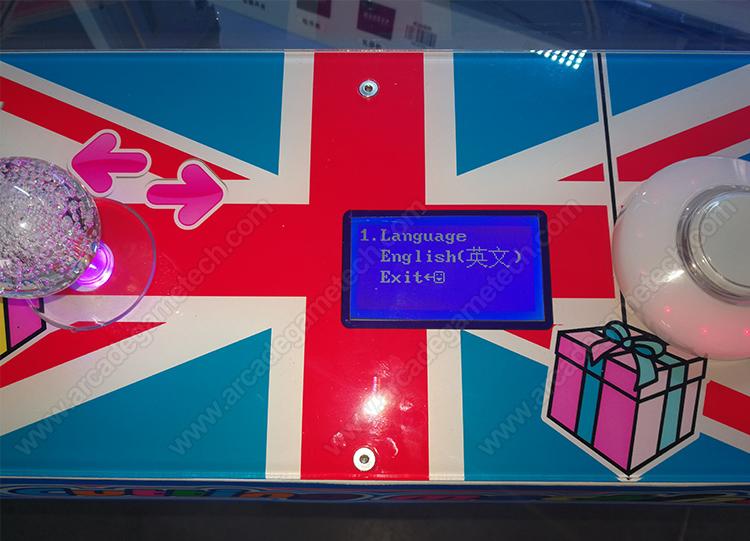 <Cut A Prize Arcade Game>