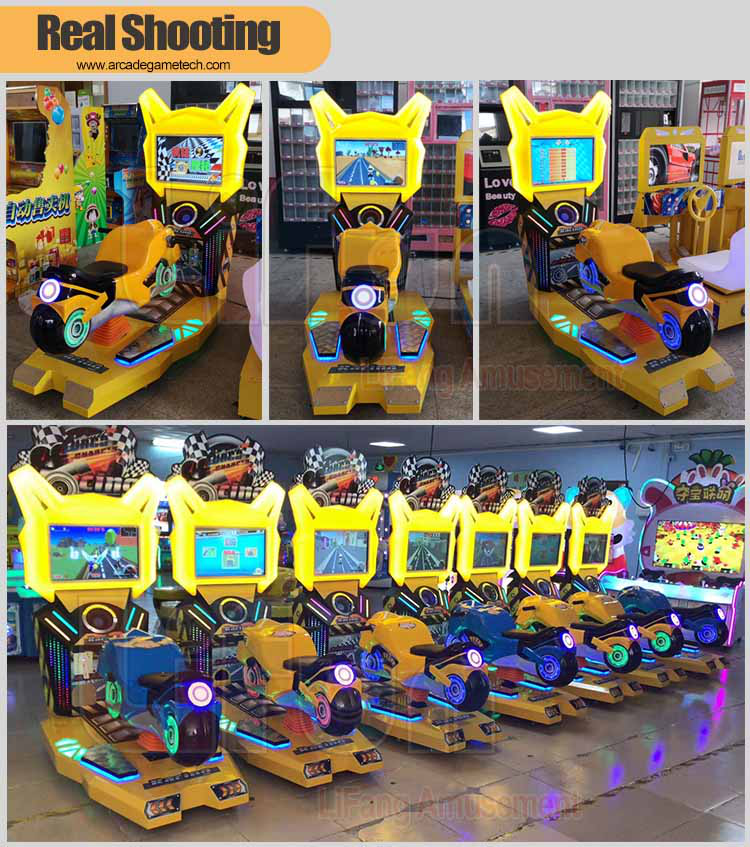 Kids Motorcycle Arcade Games