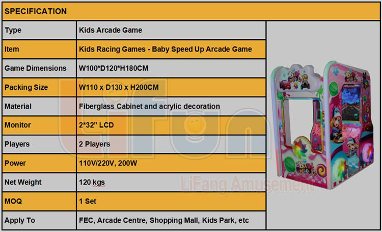 Kids Arcade Racing Game