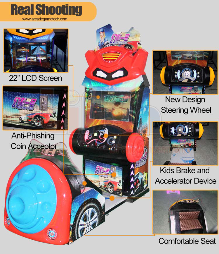 Coin Operated Racing Game For Kids