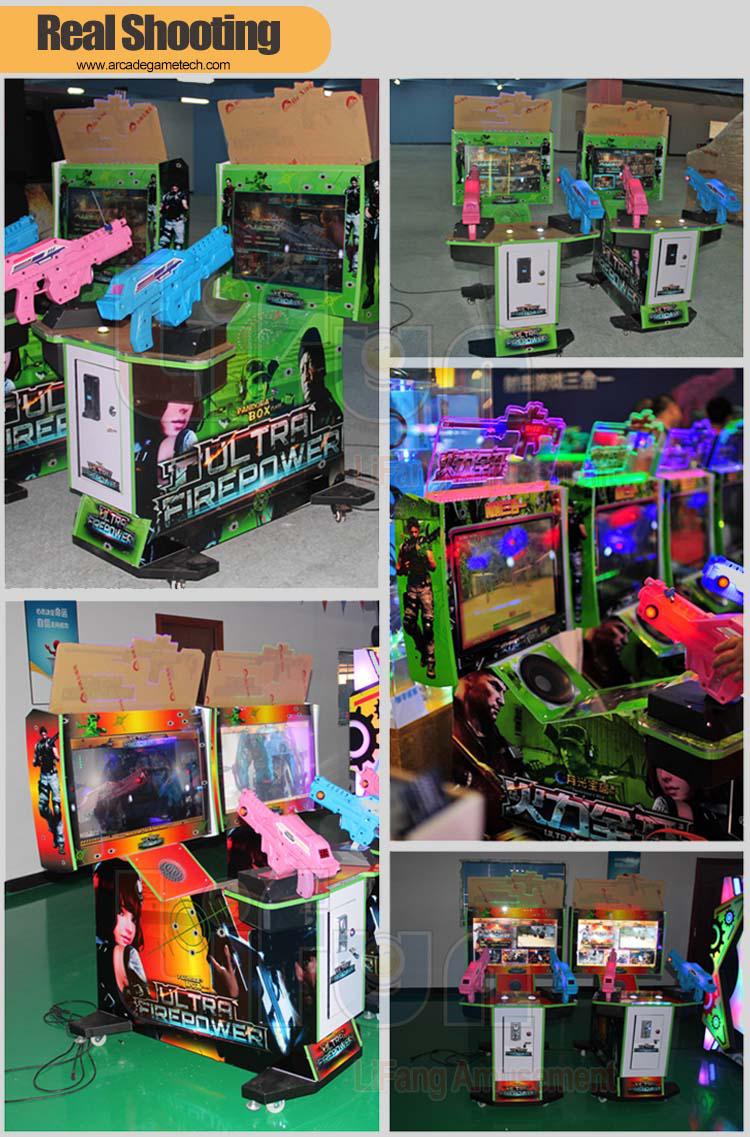 3 in 1 Arcade Gun Shooting Game