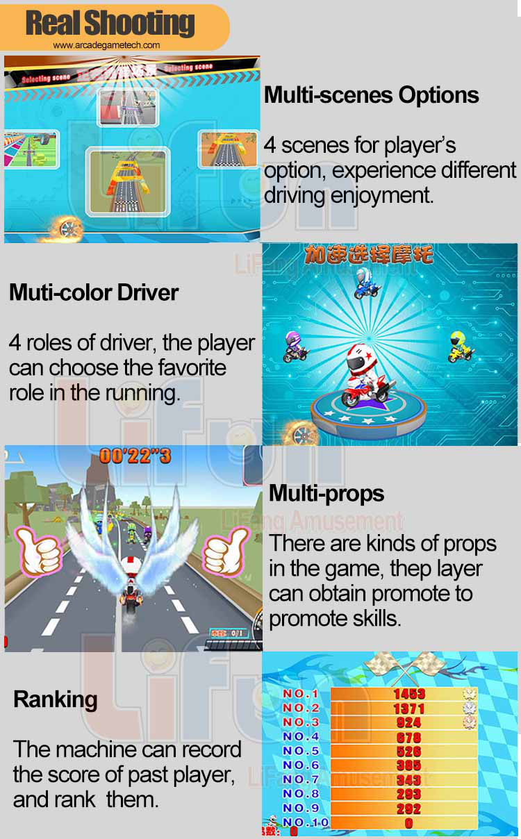Kids Arcade Game Machine