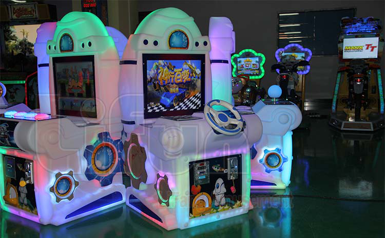 Kids Racing Arcade Game