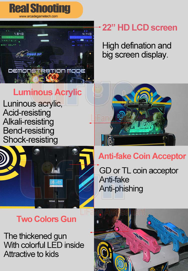Arcade Shooting Machine