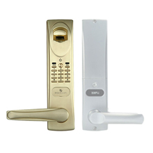 PL805 Danish design smart lock with audit trail records optional