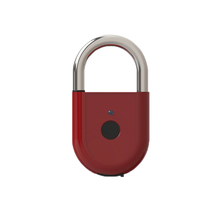 Smart electronic waterproof padlock for outdoor sports use