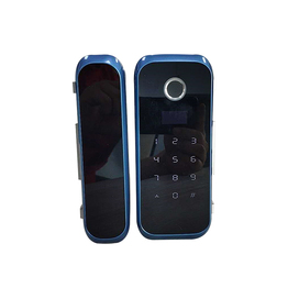 Functional security door lock blue color with virtual password