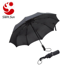 Travel Folding Automatic Umbrella Strong Windproof Compact