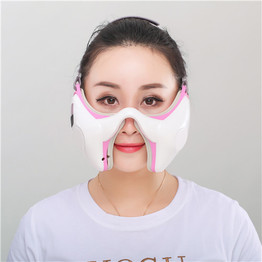 V shape Kneading and rolling cosmetic facial massager