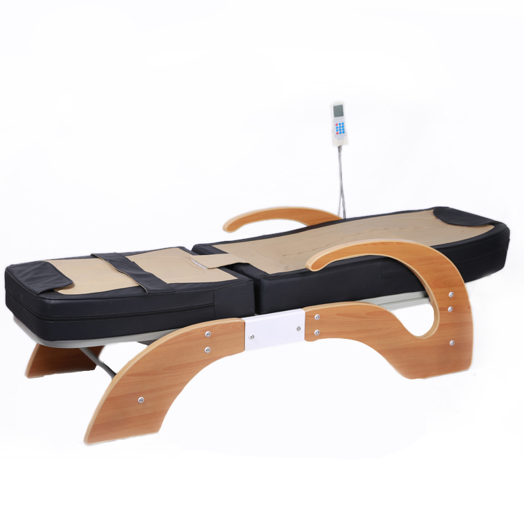 Top lever electric thermal infrared full body therapy jade massage bed
