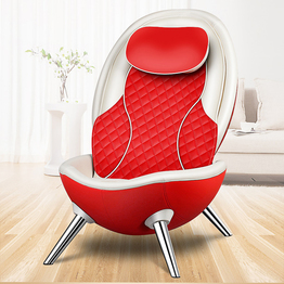 New Design Big Egg L Shape Full Back And Neck Shiatsu Mini Massage recliner