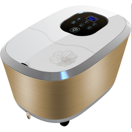 New Design Luxury Portable Electrical Stainless Steel Shiatsu Infrared Foot Spa Foot Bath Foot Massager