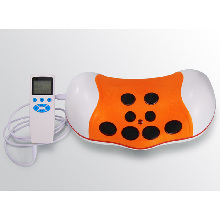 Multifunctional Shiatsu Infrared Heat And Magnetic Impluse Therapy Neck Massager With Pasters and Ear Clip
