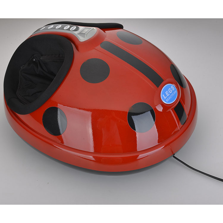 Coccinella septempunctata appearance luxury 3D rolling and air pressure electrical Foot Massager