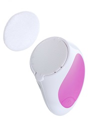 Portable 5 vibration heads mini cosmetic facial massager with battery