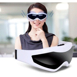 Luxury magnetic eye massager with USB or adaptor in popular style.