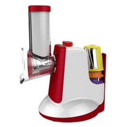 2019 New Style Electrical Multi Function Vegetable Cutter Slicer Salad Maker With Sorbet Attachment