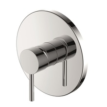 H0040271109 Chrome Single Lever Wall-mounted Shower Valve Mixer without Diverter bathroom faucets