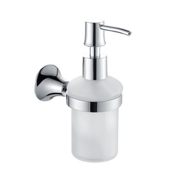H003048203CP Chrome Soap and Lotion Dispenser, Wall Mounted, Solid Brass bathroom accessories
