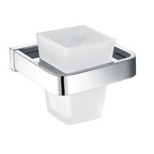 H003043271CPChrome Square Tumbler Holder bathroom accessories