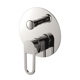 H00402804091 Chrome Single Lever Wall-mounted Shower Mixer with Diverter bathroom faucets