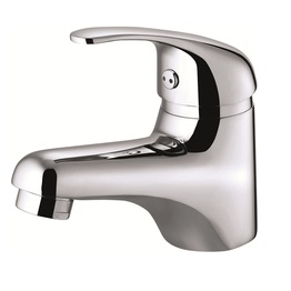 H0040281201 Chrome 1-Handle Single Hole Bathroom Sink Faucet bathroom faucets