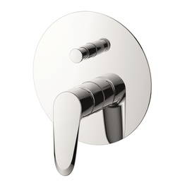 H00402816091 Chrome Single Lever Wall-mounted Shower Mixer with Diverter bathroom faucets