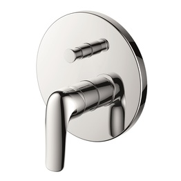 H00402837091 Chrome Single Lever Wall-mounted Shower Valve Mixer with Diverter bathroom faucets