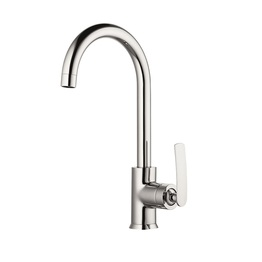 H0040189905 Chrome 1-handle Deck Mount kitchen faucets