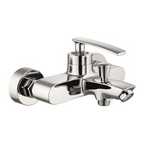 H0040289903 Chrome Single Lever Bath Shower Mixer with Diverter bathroom faucets