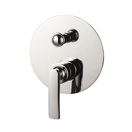 H00402899091  Chrome Single Lever Wall-mounted Shower Mixer with Diverter bathroom faucets
