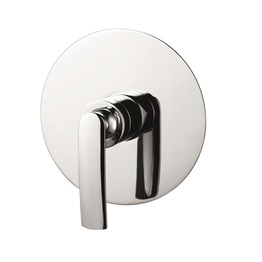 H0040289909 Chrome Single Lever Wall-mounted Shower Valve Mixer without Diverter bathroom faucets
