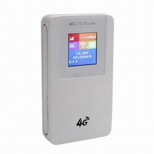 Cat4 150M 4g FDD TDD mini portable router with power bank