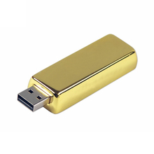 Metal Gold bar memory stick usb stick usb pendrive