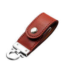 Leather memory flash drive usb flash disk