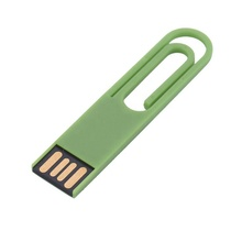 Book Clip Shape Paper Thin Usb Drive Clip For Promotion