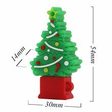 Novelty Christmas tree memory stick