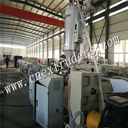 HDPE Large Diameter Water & Gas Supply Pipe Production Line plastic pipe machine