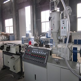 PVC, PE Single Wall Corrugated Pipe Production Line plastic pipe machine
