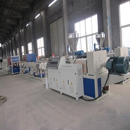 UPVC Twin-pipe Extrusion Line plastic pipe machine