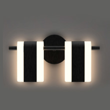 Contemporary fashion simple white fabric wall lights decorative led wall lighting fixture