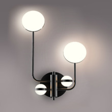 Hot sale modern OEM glass hotel sconce wall lights for indoor home decor