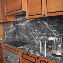 Good Quality Grigio Carnico  Grey Marble Kitchen Countertop